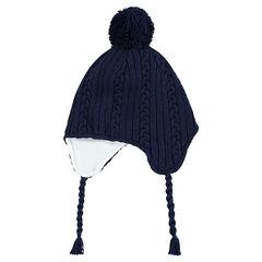 3621cfca03f Bonnet péruvien en tricot doublé polaire ...