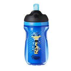 Tasse à paille isotherme - Bleu/Vert