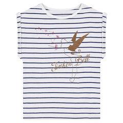 Tee-shirt manches courtes en jersey Disney print Minnie