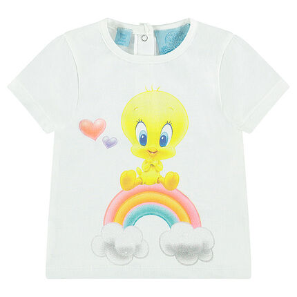 Tee-shirt manches courtes print Looney Tunes Titi