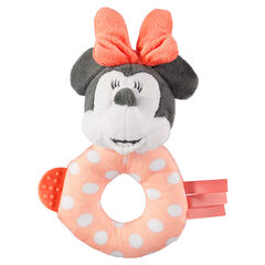 Hochet peluche Disney Minnie