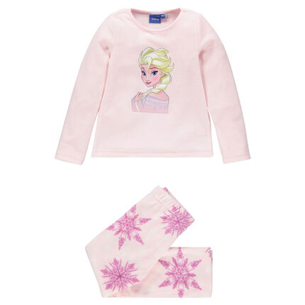 Pyjama long en micropolaire print Disney la Reine des Neiges