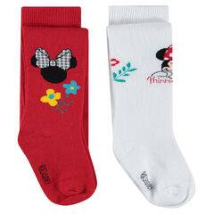Lot de 2 collants épais Disney motif Minnie