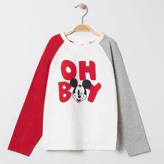 T-shirt manches longues print Mickey Disney