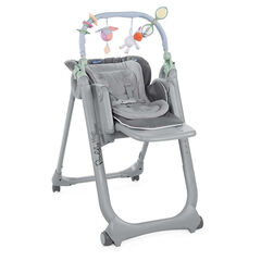 Chaise haute évolutive Polly Magic Relax - Anthracite