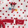 Peignoir en éponge Disney Minnie imprimé pois all-over