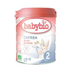 Lait en poudre au lait de chèvre bio Caprea 2 de 6 à 12 mois - 800g