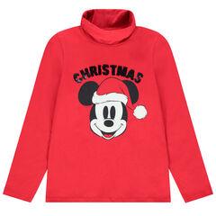 Sous-pull col roulé esprit Noël print Mickey Disney pour enfant garçon , Orchestra