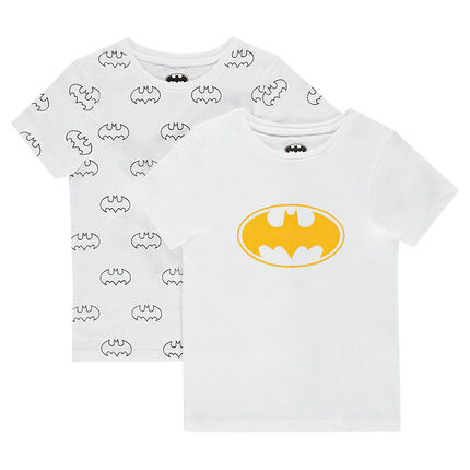 Lot de 2 maillots de corps en jersey ©Warner Batman