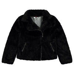 Junior - Manteau en fausse fourrure forme perfecto