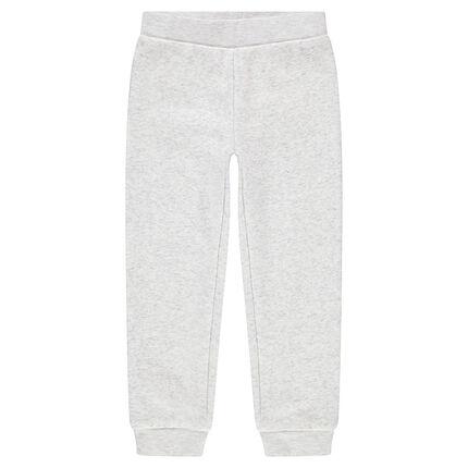 Pantalon de jogging en molleton avec poche au dos