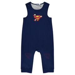 Salopette longue doublée jersey JUSTICE LEAGUE - CHIBI print Superman
