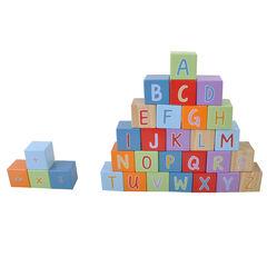 Cubes alphabet en bois 30 pièces , Prémaman