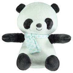 Peluche ouatinée en velours forme panda