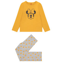 Pyjama en jersey print Minnie Disney pour enfant fille , Orchestra