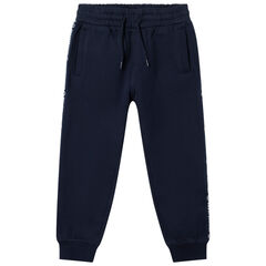 Pantalon de jogging en molleton à bandes Smiley
