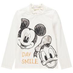 Sous-pull col cheminée print Donald et Mickey Disney