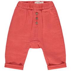 Pantalon en maille à boutons fantaisie
