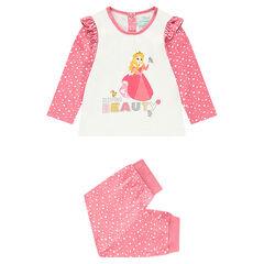 Pyjama en jersey avec haut print Princesse Aurore ©Disney