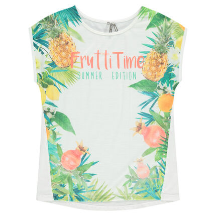 Tee-shirt manches courtes print sublimation