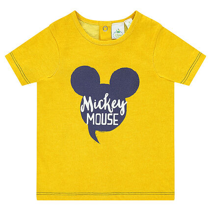 Tee-shirt manches courtes Disney print Mickey
