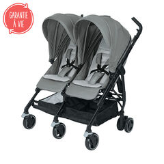 Poussette double Dana for2 - Nomad Grey