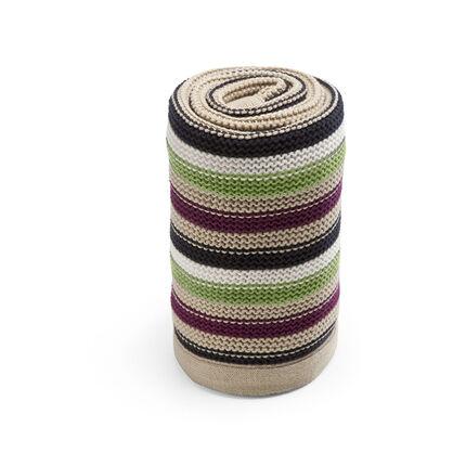 Couverture tricot - Vert