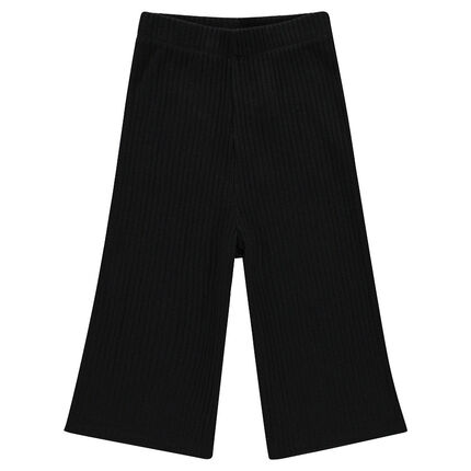 Pantalon large mi-mollets