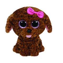 Peluche small 1er age Maddie le Chien