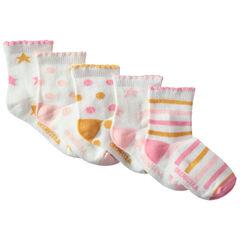 Lot de 5 paires de chaussettes à motifs colorés