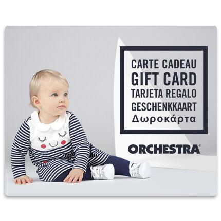La E-carte cadeau Orchestra bebeFille