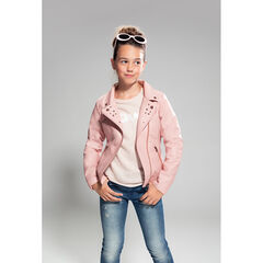 Junior - Perfecto en simili cuir avec rivets fantaisie
