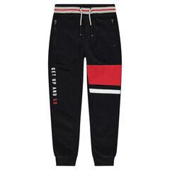 Junior - Pantalon de jogging en molleton avec poches zippées