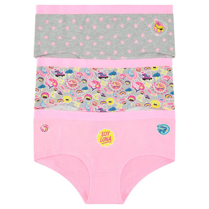 Junior - Lot de 3 shorties Disney Soy Luna