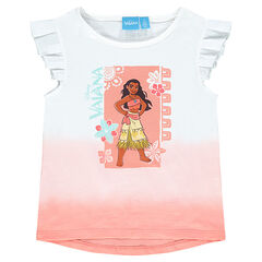 Tee-shirt manches courtes print Disney Vaiana