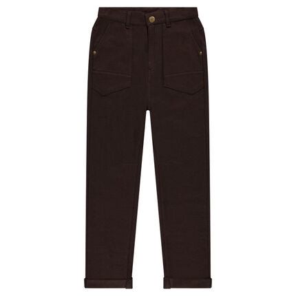 Junior - Pantalon en maille fantaisie