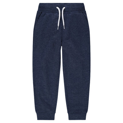 Pantalon de jogging en molleton chiné