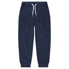 Junior - Pantalon de jogging en molleton chiné
