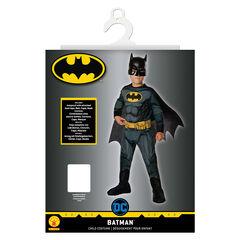 Déguisement Batman avec combinaison, cape et masque Taille 7-8 ans , Rubie'S
