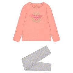 Pyjama en jersey bicolore ©Warner/Wonder Woman