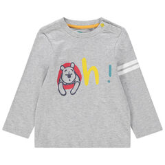 T-shirt manches longues en coton bio print Winnie l'ourson Disney