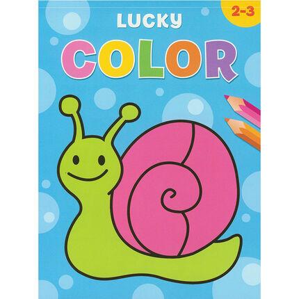 Livre Lucky Color 2-3 ans