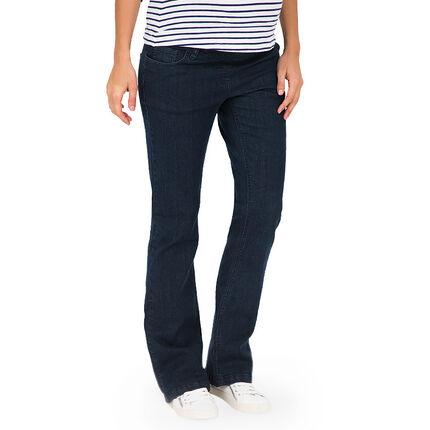 Jeans de grossesse bootcut avec bandeau haut