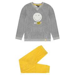 Junior - Pyjama en velours bicolore ©Smiley