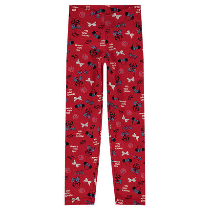 Legging en jersey ©Disney print Minnie