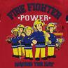Tee-shirt en jersey avec personnages Sam le pompier 2 printés ©Prism Art and Design Limited