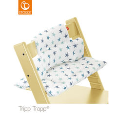 Coussin pour chaise haute Tripp Trapp – Etoiles Aqua