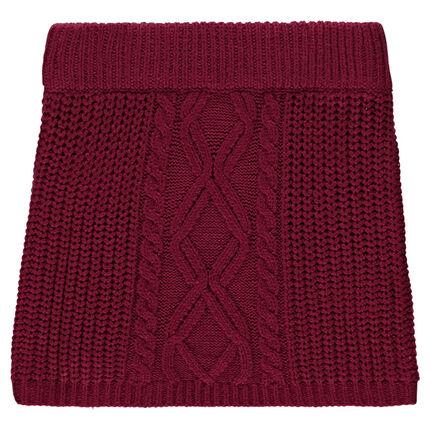 Jupe en tricot