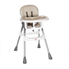 Chaise haute Basic - Beige