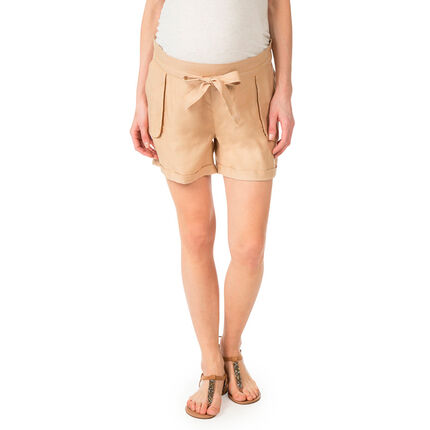 Short de grossesse en Tencel